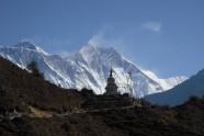 High altitude alpine hiking - Makalu Base Camp Trek